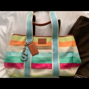 Summer Canvas purse
